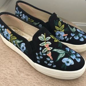 Keds x Rifle Paper Co Slip On Sneakers